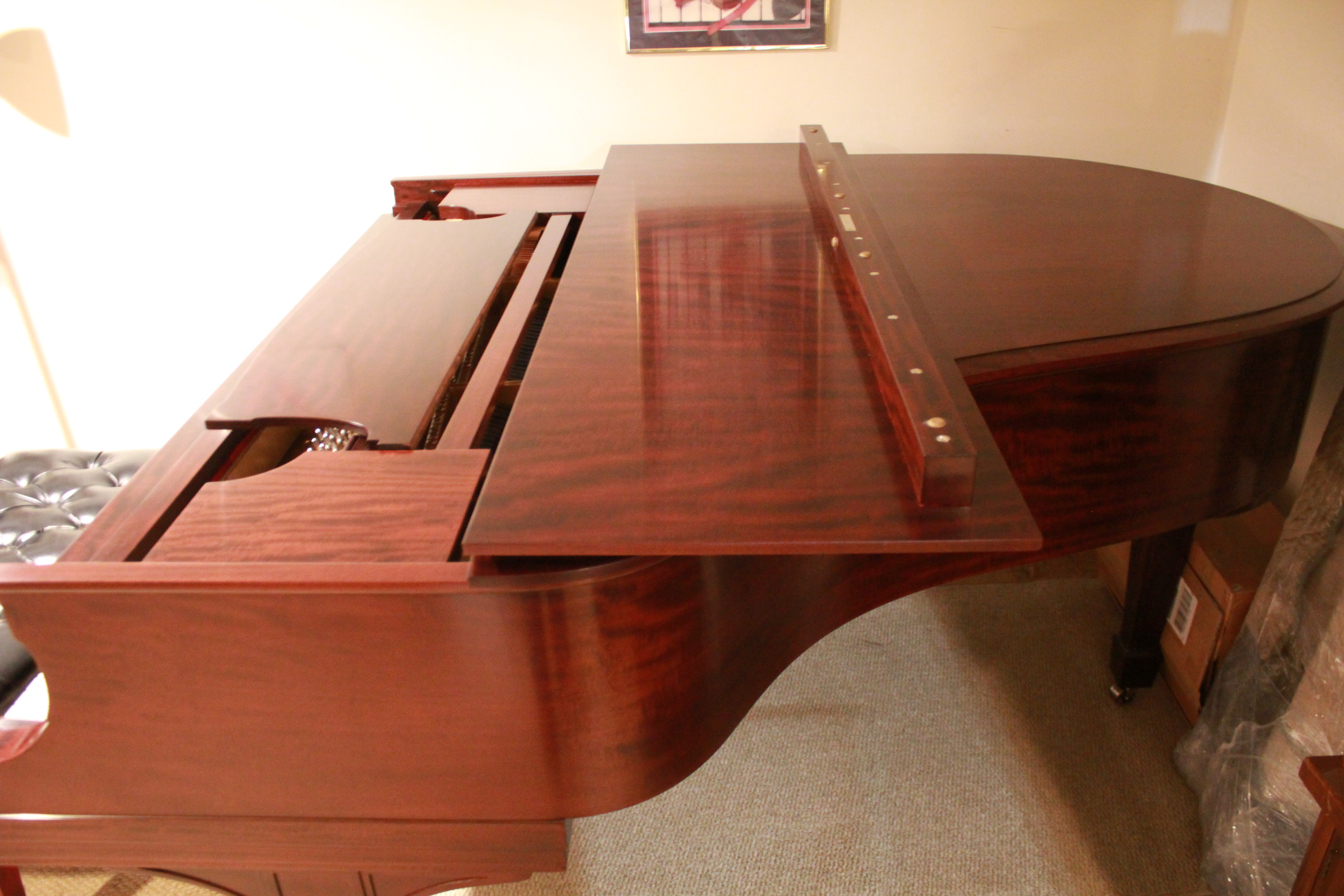 Steinway Model O grand for sale « NH Pianos